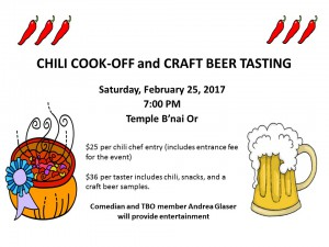 2016 Chili Cookoff