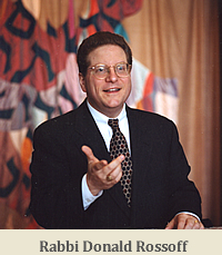 Rabbi Rossoff Bema - Young Picture